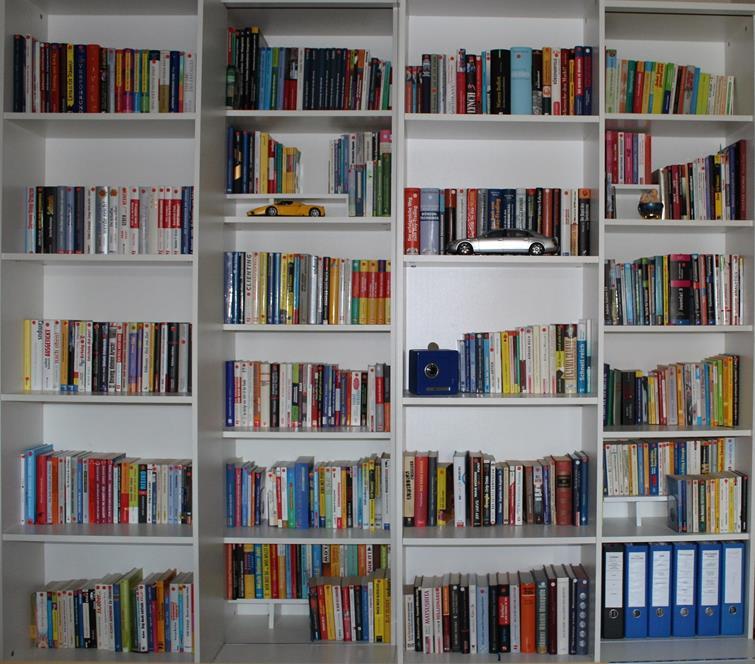 WS Bücherregal dritte Ansicht