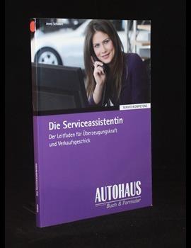 Die Serviceassistentin