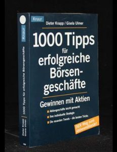 1000 Tipps für erfolgreiche Börsengeschäfte