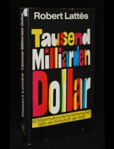 Read more about the article Tausend Milliarden Dollar